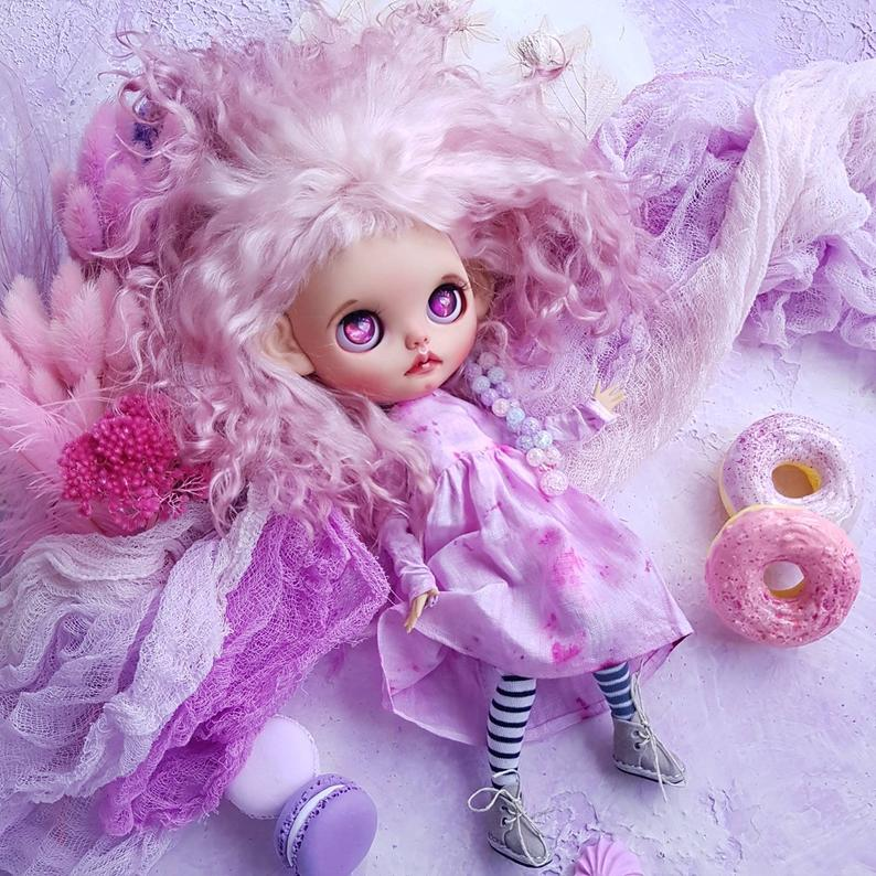 Glenda - Custom Blythe Doll One-Of-A-Kind OOAK Sold-out Custom Blythes