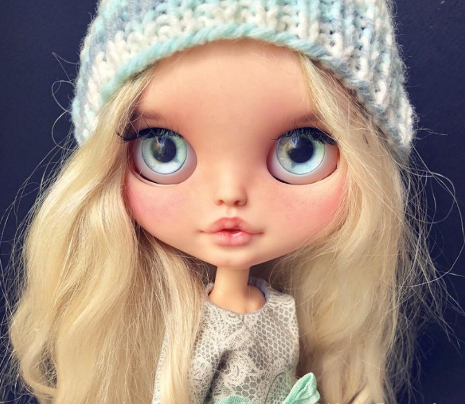 Claire - Custom Blythe Doll One-Of-A-Kind OOAK Sold-out Custom Blythes