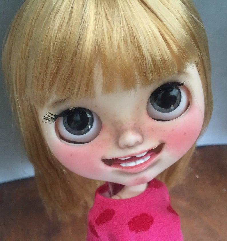 Carley - Custom Blythe Doll One-Of-A-Kind OOAK Sold-out Custom Blythes