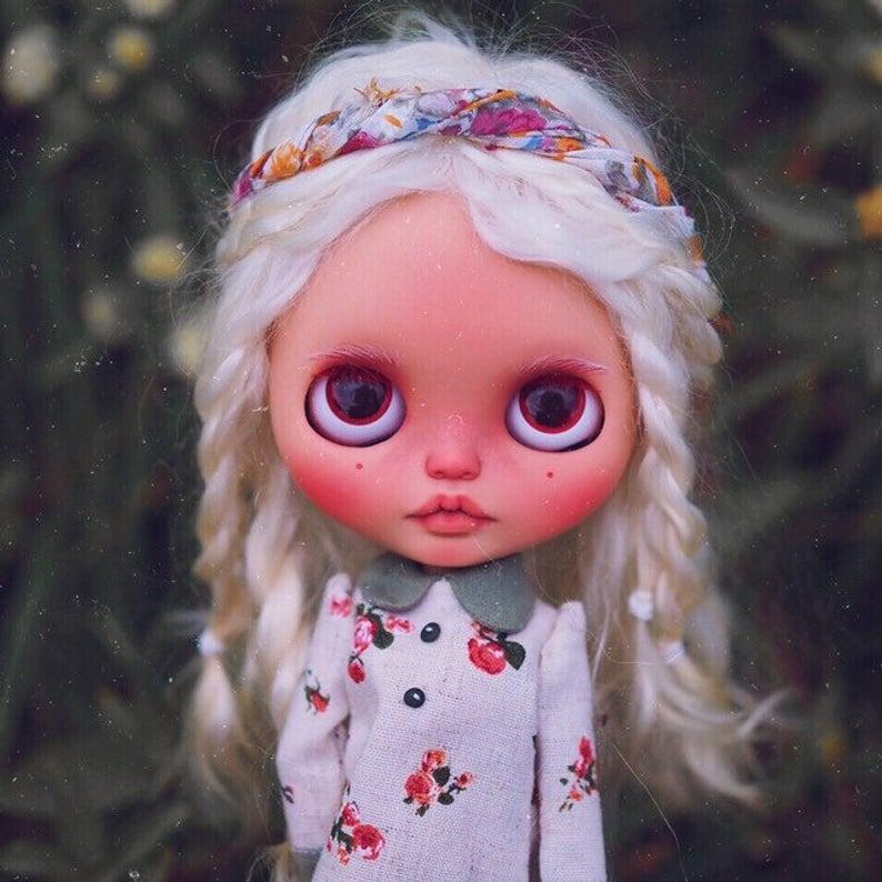 Sienna - Custom Blythe Doll One-Of-A-Kind OOAK Sold-out Custom Blythes
