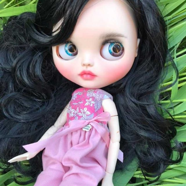 Dominique – Custom Blythe Doll One-Of-A-Kind OOAK