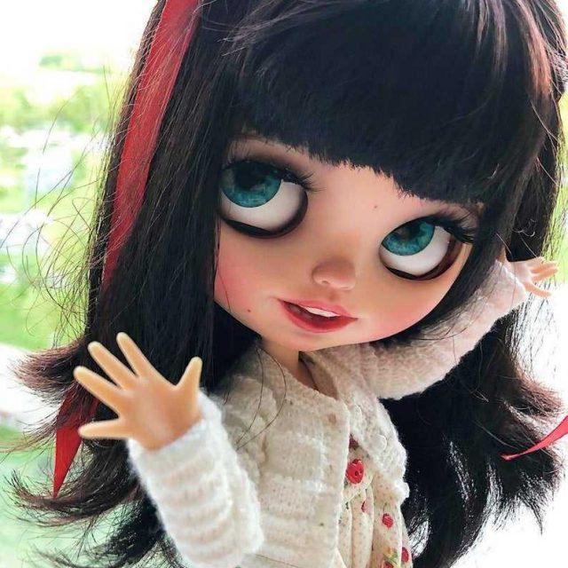 Virdžinija - Custom Blythe Doll OOAK