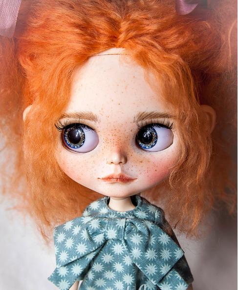 Lika - Custom Blythe Doll One-Of-A-Kind OOAK Sold-out Custom Blythes