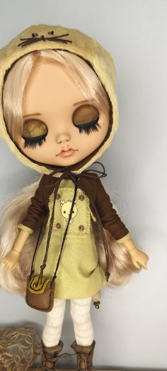 Dell - Custom Blythe Doll One-Of-A-Kind OOAK Sold-out Custom Blythes