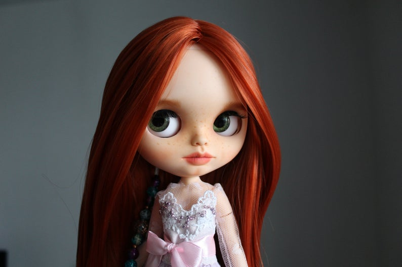 Mabel - Custom Blythe Doll One-Of-A-Kind OOAK Sold-out Custom Blythes
