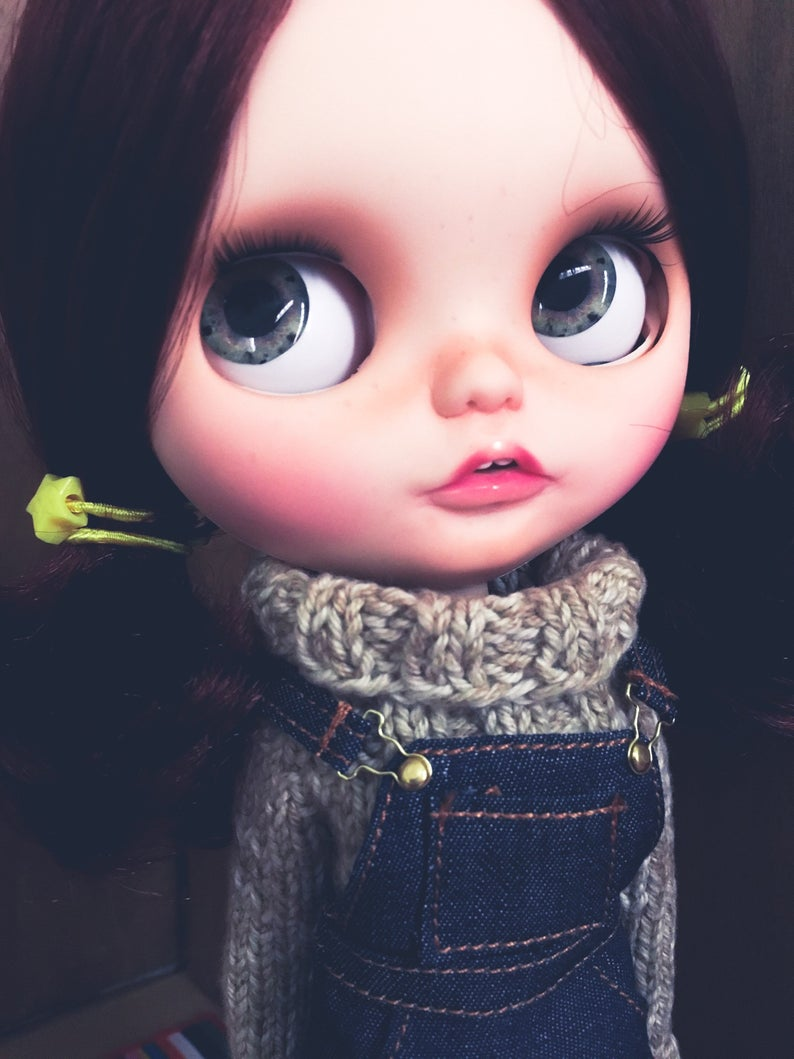 Jeannette - Custom Blythe Doll One-Of-A-Kind OOAK Sold-out Custom Blythes
