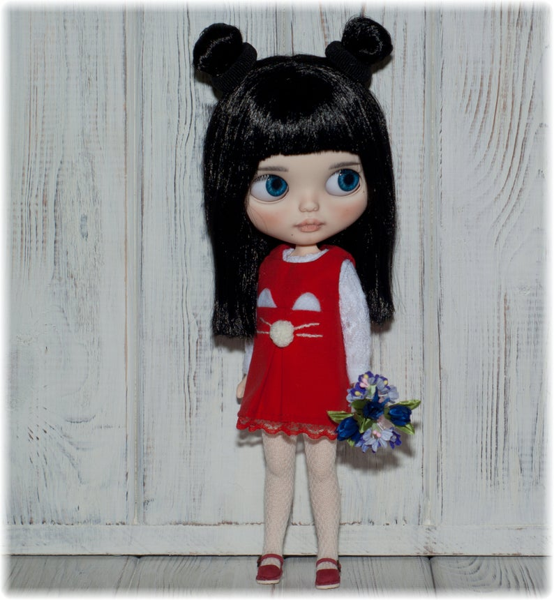 Nan - Custom Blythe Doll One-Of-A-Kind OOAK Sold-out Custom Blythes