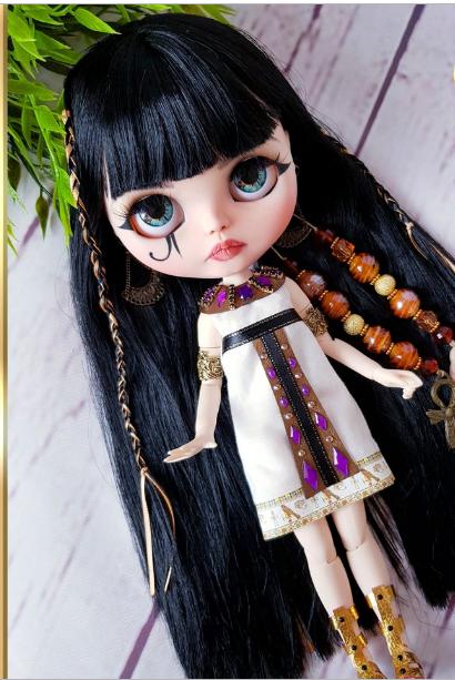 Tanafriti - Custom Blythe Doll One-Of-A-Kind OOAK Sold-out Custom Blythes