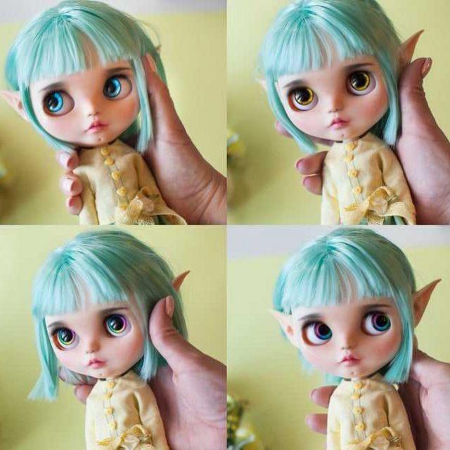Phyllis – Custom Blythe Doll One-Of-A-Kind OOAK