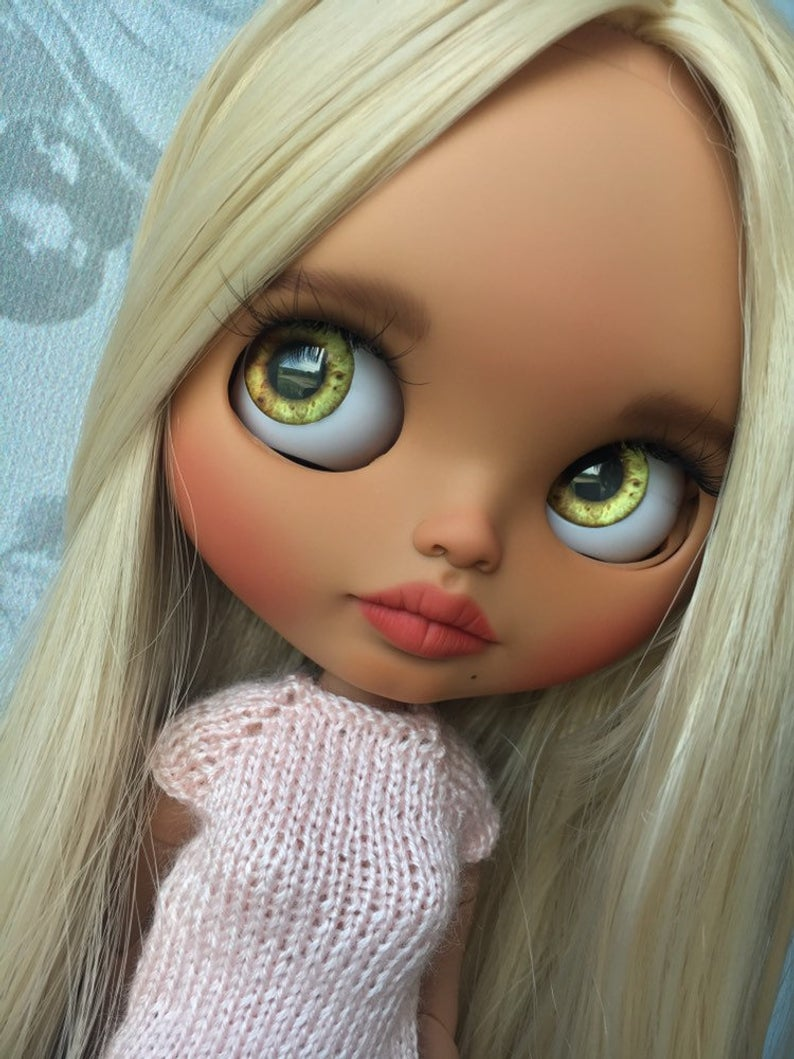 Bernie - Custom Blythe Doll One-Of-A-Kind OOAK Sold-out Custom Blythes