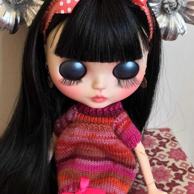 Marcella – Custom Blythe Doll One-Of-A-Kind OOAK