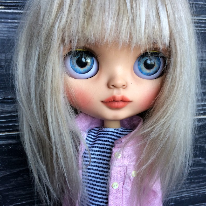 Netty - Custom Blythe Doll One-Of-A-Kind OOAK Sold-out Custom Blythes