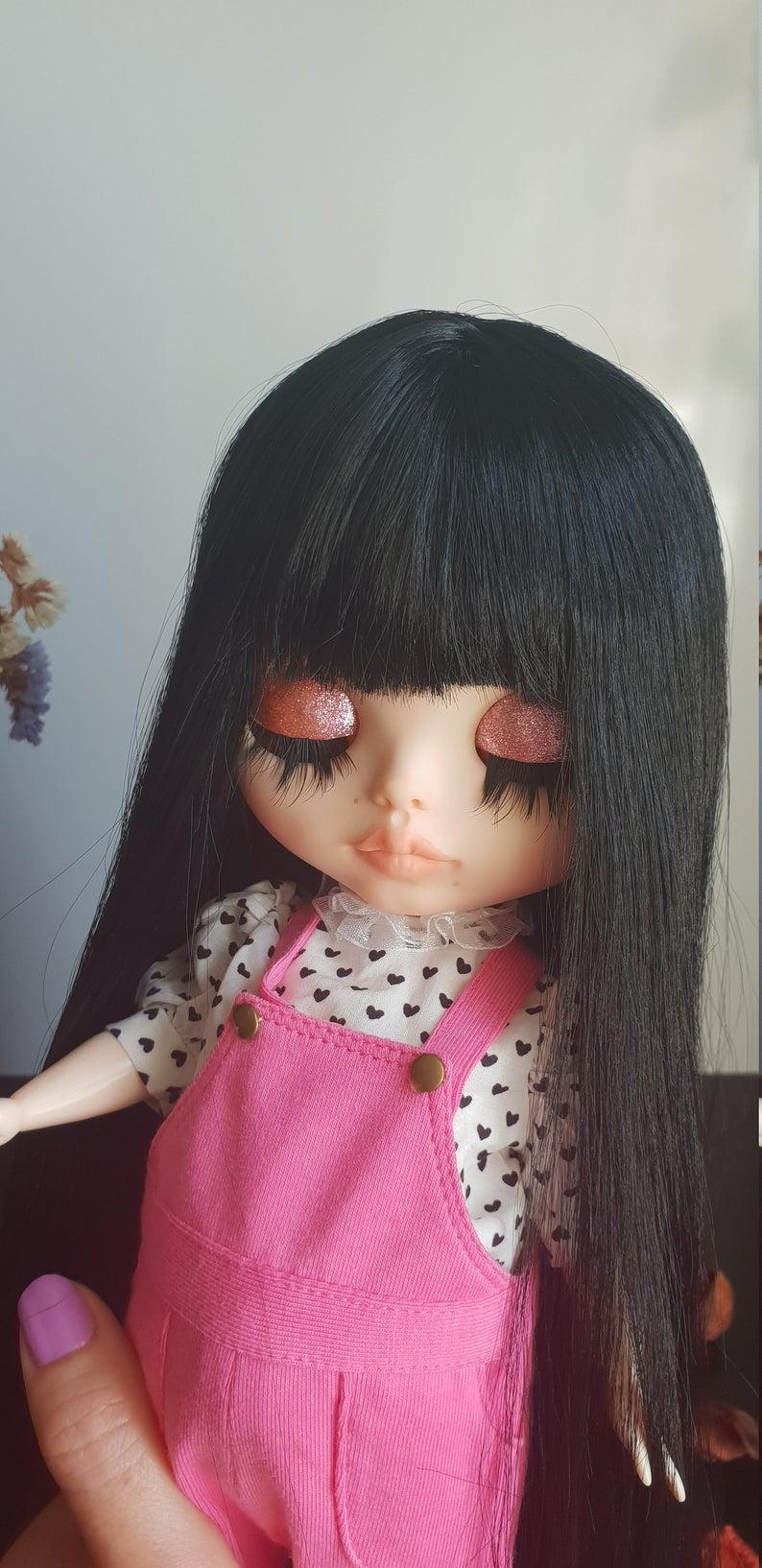 Nadine - Custom Blythe Doll One-Of-A-Kind OOAK Sold-out Custom Blythes