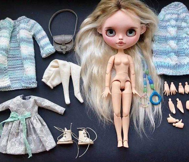 Claire – Custom Blythe Doll One-Of-A-Kind OOAK