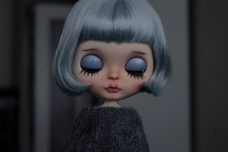 Berta - Custom Blythe Doll One-Of-A-Kind OOAK Sold-out Custom Blythes
