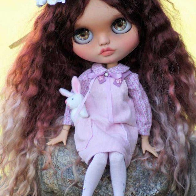 Sofia – Custom Blythe Doll One-Of-A-Kind OOAK