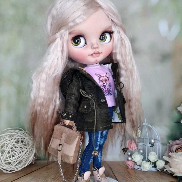 Cherry – Custom Blythe Doll OOAK