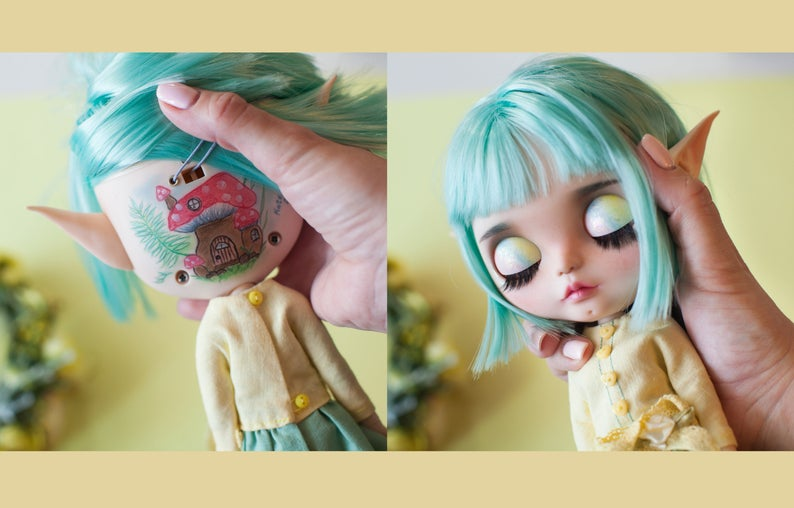 Phyllis - Custom Blythe Doll One-Of-A-Kind OOAK Sold-out Custom Blythes