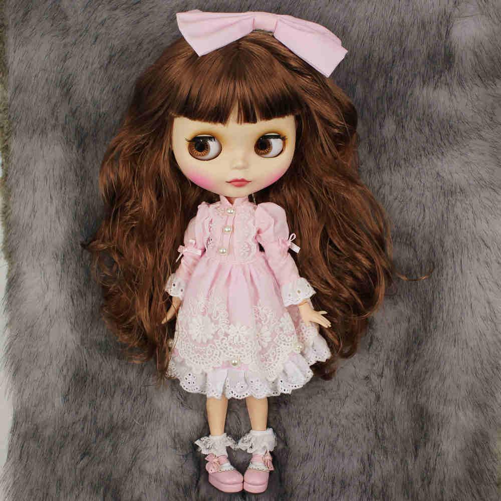 Angela – Premium Custom Blythe Doll with Clothes Cute Face Cute Face Premium Blythe Dolls 🆕