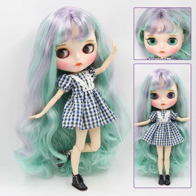 Andrea – Premium Custom Blythe Doll with Full Outfit Pouty Face