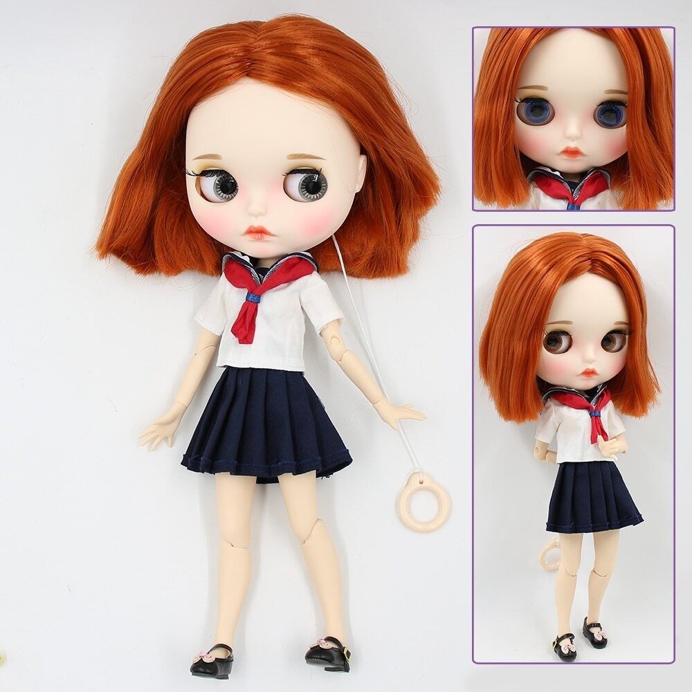 Albertina – Premium Custom Blythe Doll with Full Outfit Pouty Face Pouty Face Premium Blythe Dolls 🆕