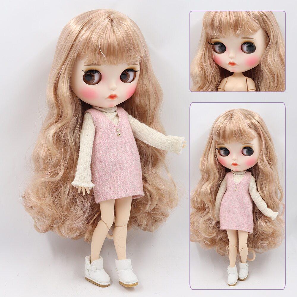 Isabella – Premium Custom Blythe Doll with Full Outfit Pouty Face Pouty Face Premium Blythe Dolls 🆕