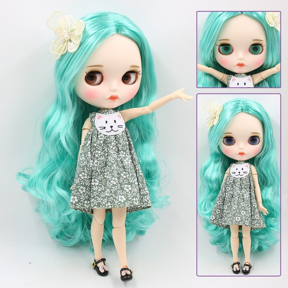 Andy – Premium Custom Blythe Doll with Full Outfit Pouty Face Pouty Face Premium Blythe Dolls 🆕