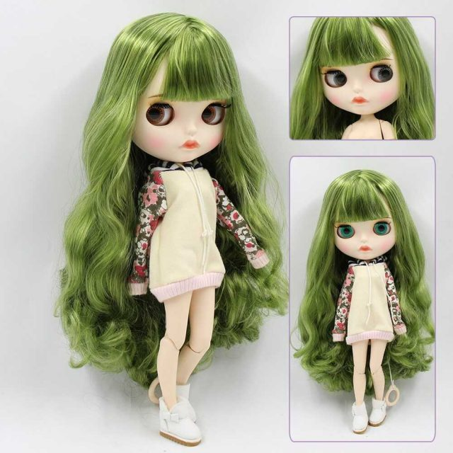 Melissa – Premium Custom Blythe Doll with Full Outfit Pouty Face