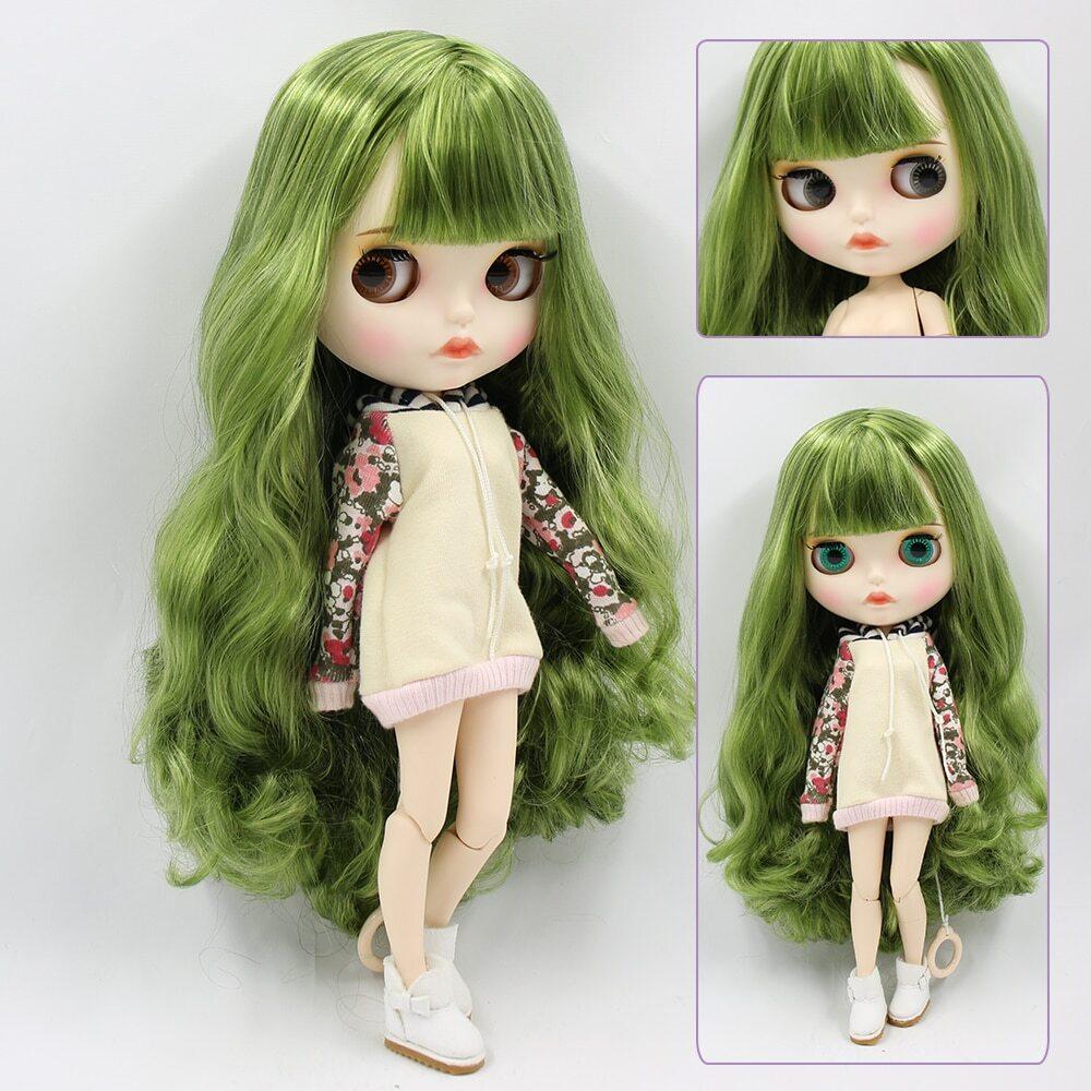 Melissa – Premium Custom Blythe Doll with Full Outfit Pouty Face Pouty Face Premium Blythe Dolls 🆕