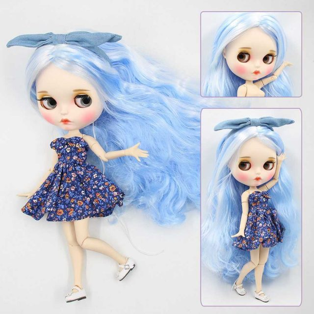 Jessica – Premium Custom Blythe Doll with Full Outfit Pouty Face
