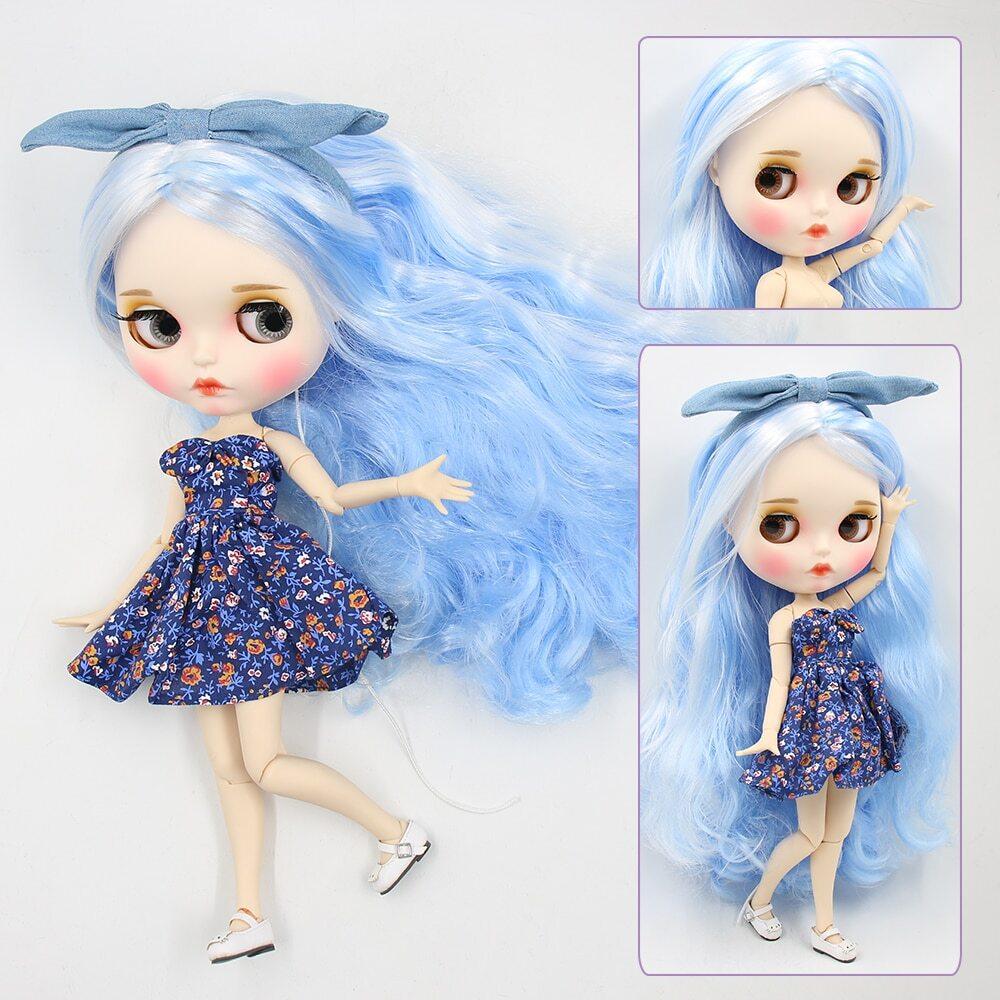 Jessica – Premium Custom Blythe Doll with Full Outfit Pouty Face Pouty Face Premium Blythe Dolls 🆕