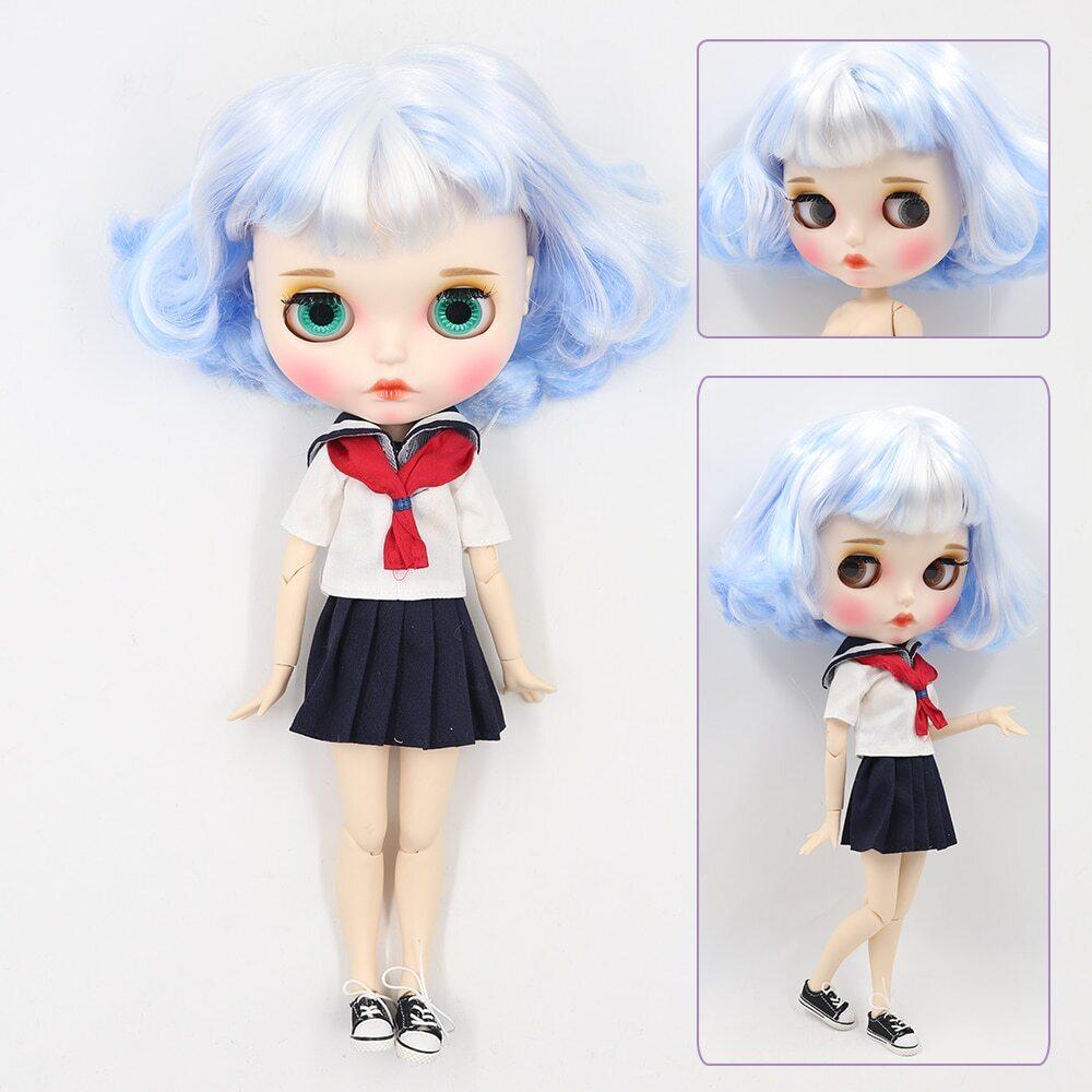 Ember – Premium Custom Blythe Doll with Full Outfit Pouty Face Pouty Face Premium Blythe Dolls 🆕