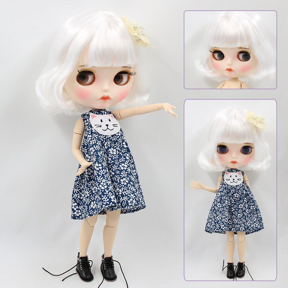 Anna – Premium Custom Blythe Doll with Full Outfit Pouty Face Pouty Face Premium Blythe Dolls 🆕