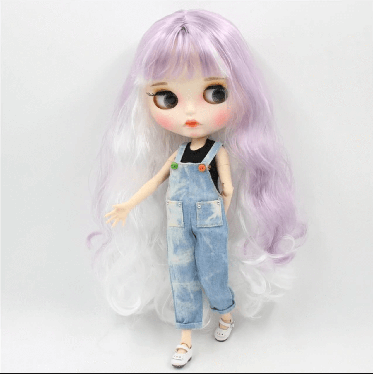 Premium Custom Neo Blythe Doll with Full Outfit 27 Combo Options 34