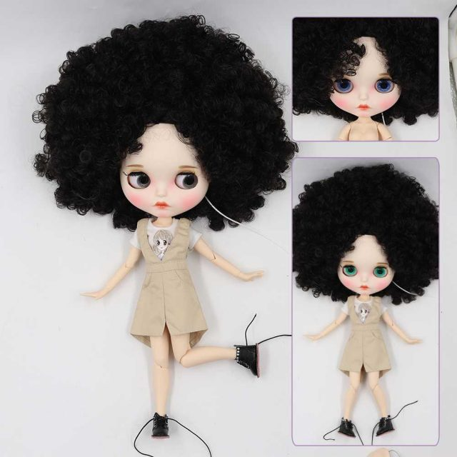 Blaire – Premium Custom Blythe Doll with Full Outfit Pouty Face