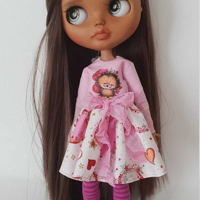 Pupa – Custom Blythe Doll One-Of-A-Kind OOAK