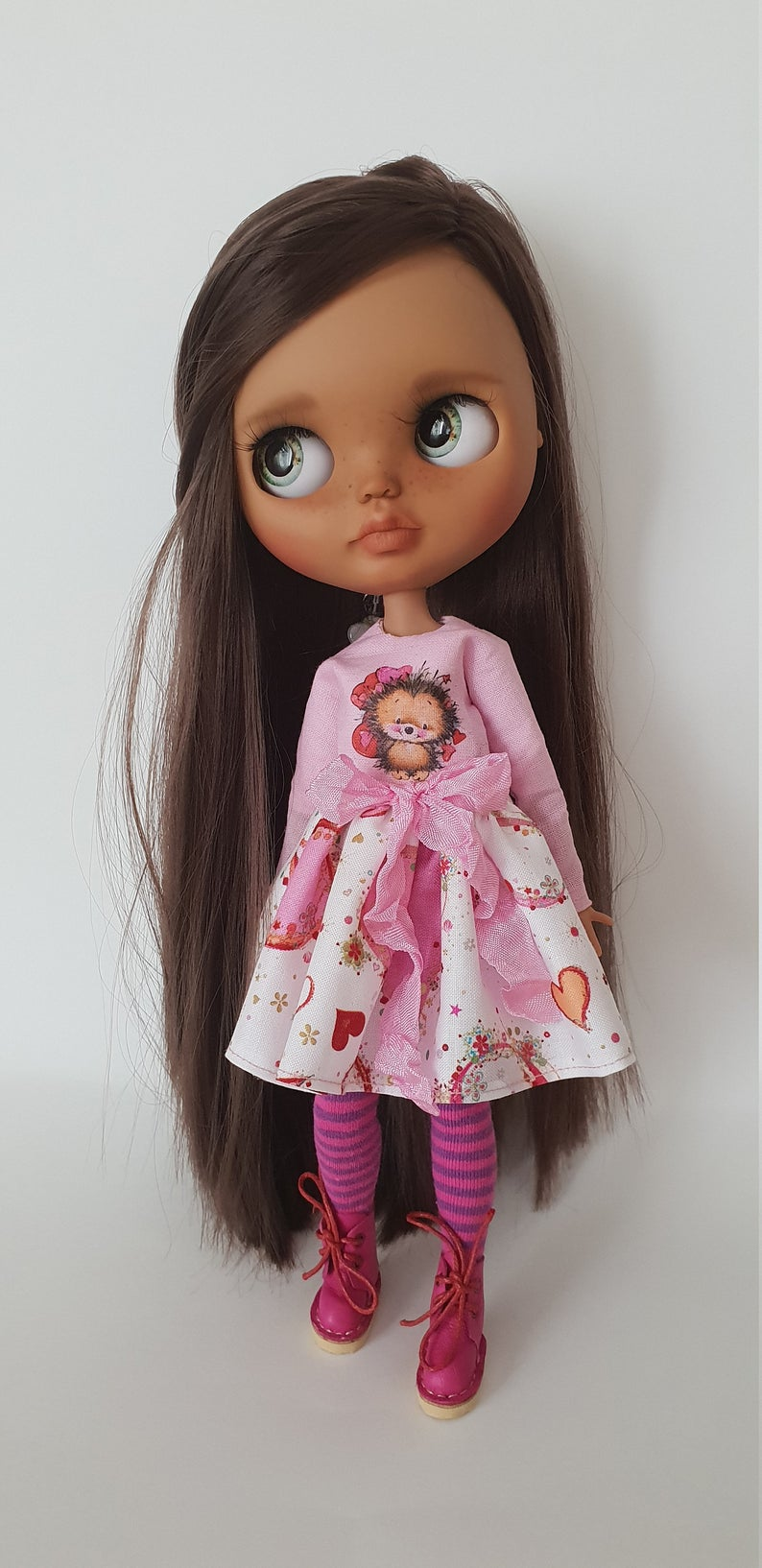 Pupa - Custom Blythe Doll One-Of-A-Kind OOAK Sold-out Custom Blythes