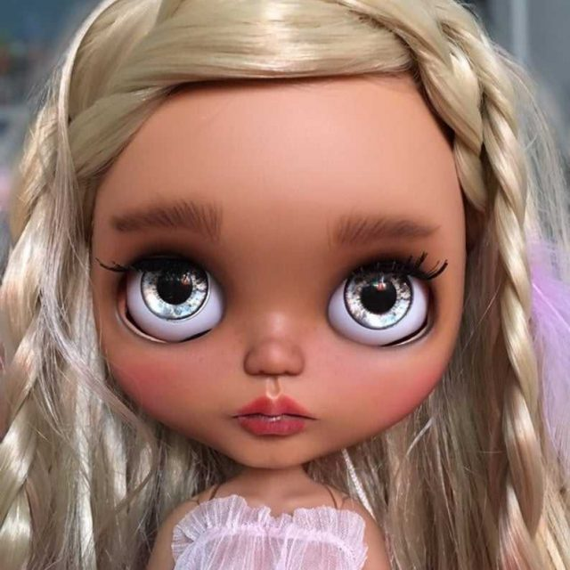 تابستان - سفارشی Blythe عروسک OOAK