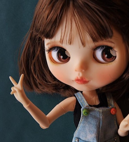 Saika – Custom Blythe Doll OOAK