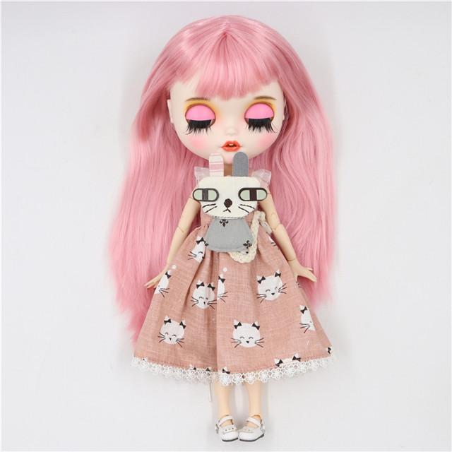 Amelia - Premium Custom Blythe Doll with Clothes Smiling Face Premium Blythe Dolls 🆕 Smiling Face