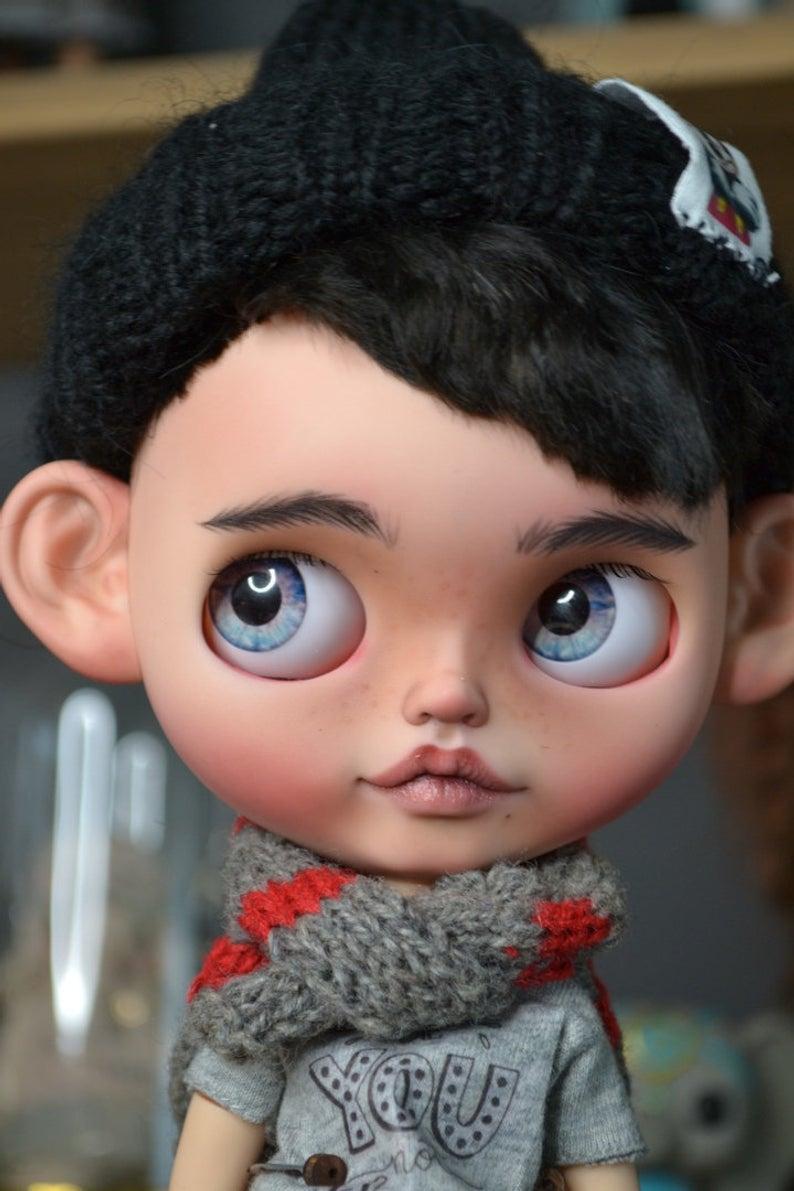 Alex - Custom Blythe Doll One-Of-A-Kind OOAK Sold-out Custom Blythes