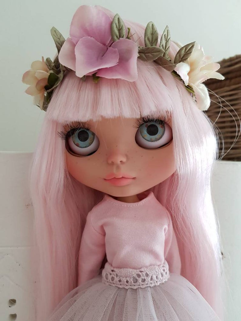 Fay - Custom Blythe Doll One-Of-A-Kind OOAK Sold-out Custom Blythes