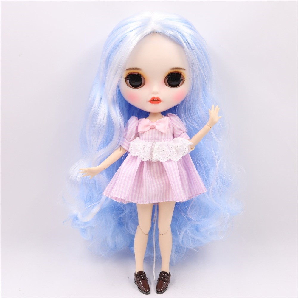 Iris - Premium Custom Blythe Doll with Clothes Smiling Face Premium Blythe Dolls 🆕 Smiling Face