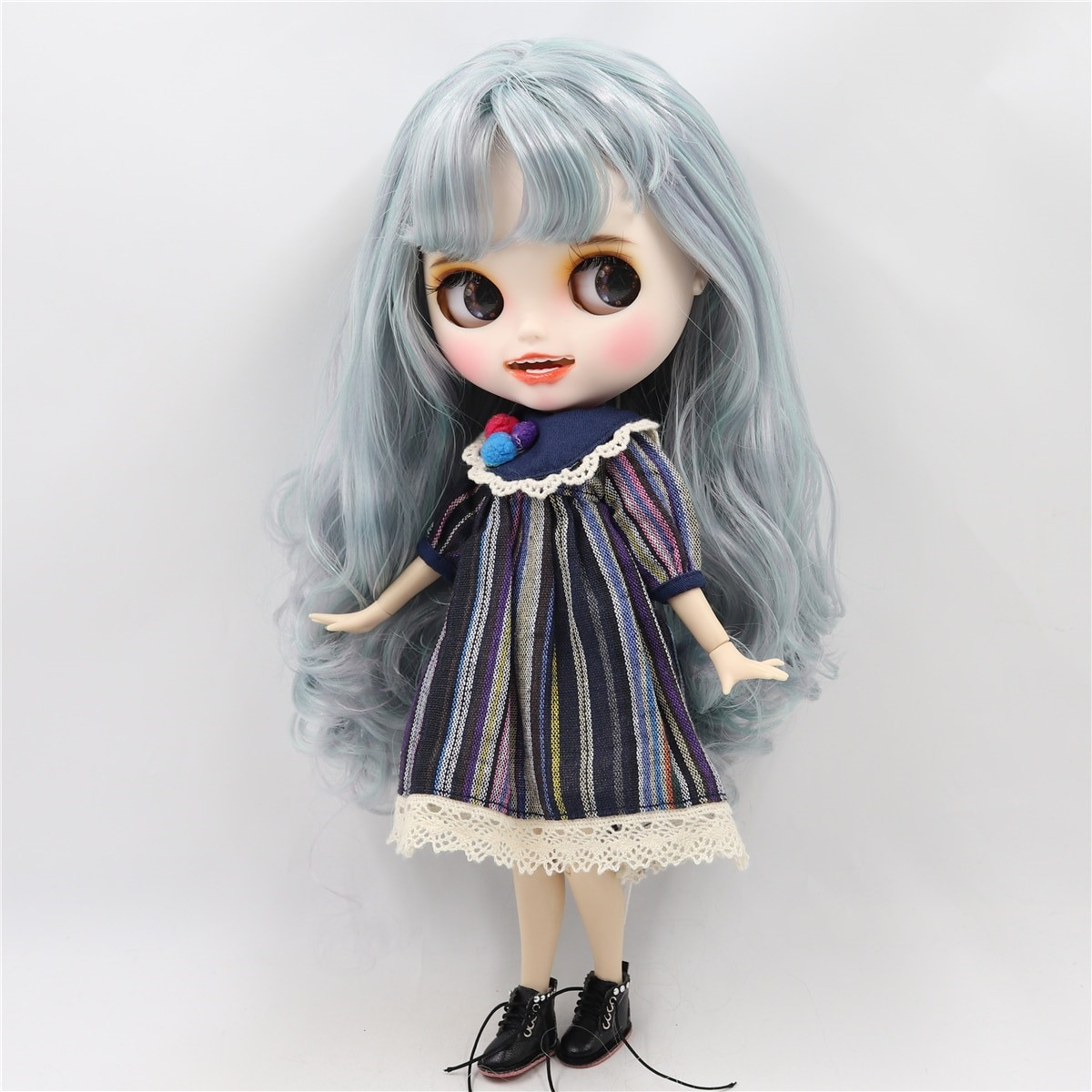 Loretta - Premium Custom Blythe Doll with Clothes Smiling Face Premium Blythe Dolls 🆕 Smiling Face