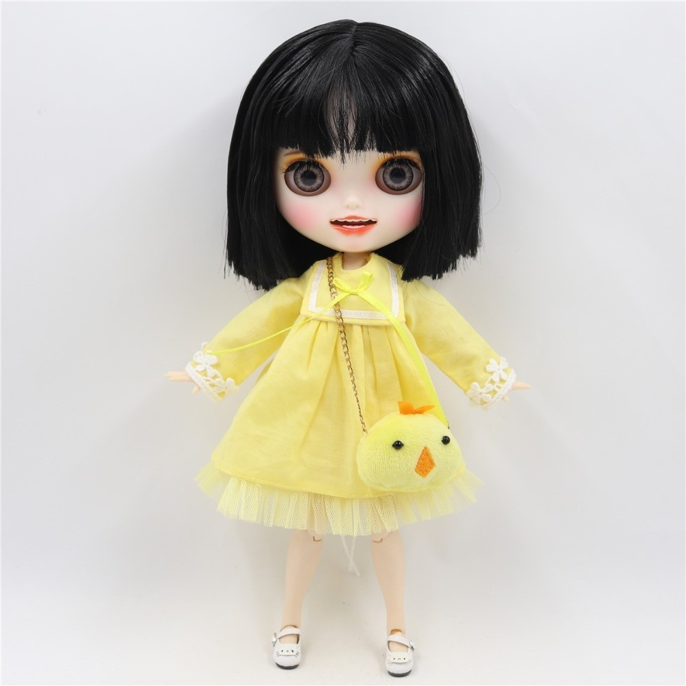 Melody - Premium Custom Blythe Doll with Clothes Smiling Face Premium Blythe Dolls 🆕 Smiling Face