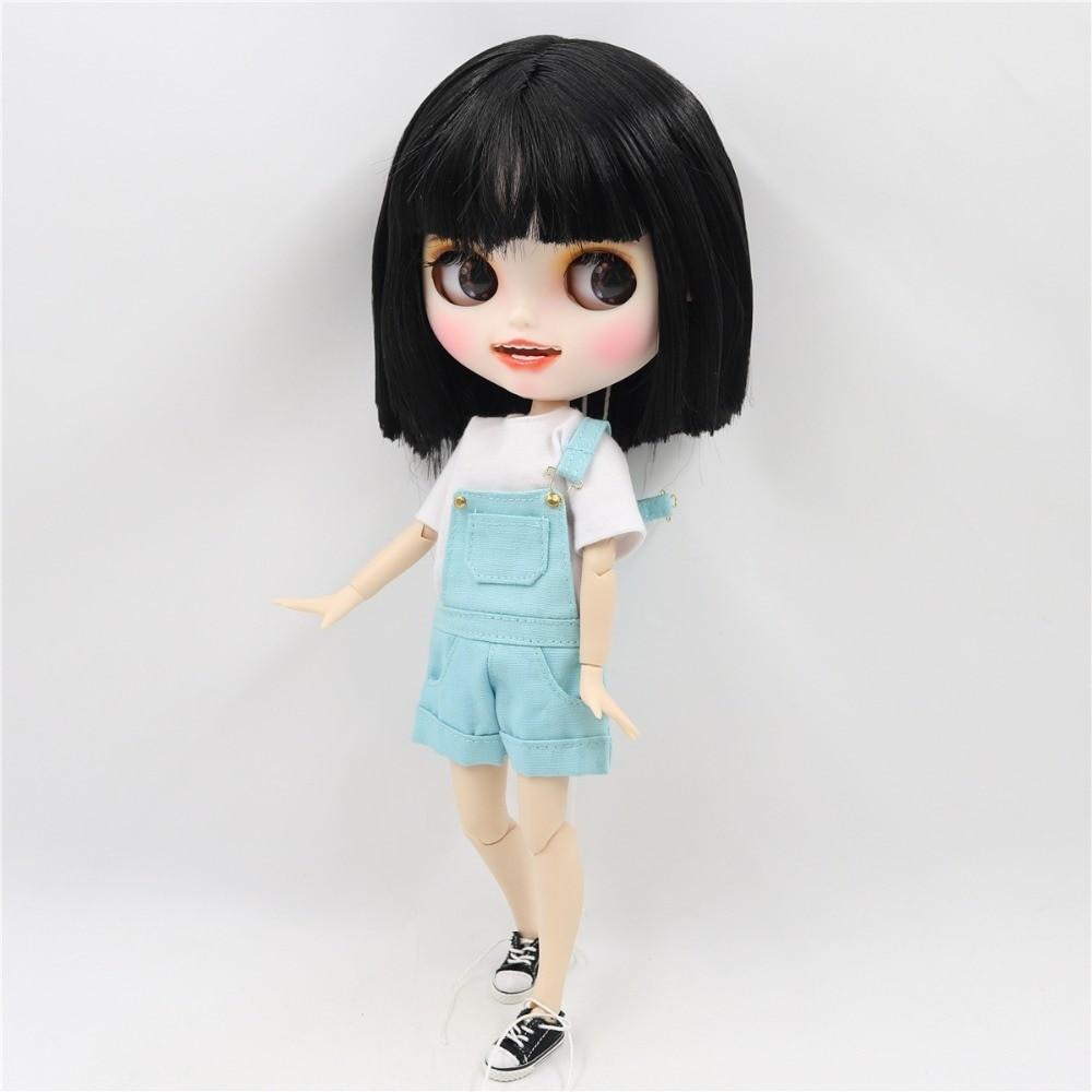 Meg - Premium Custom Blythe Doll with Clothes Smiling Face Premium Blythe Dolls 🆕 Smiling Face