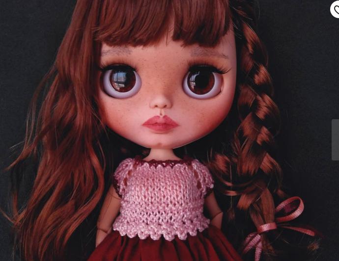 Malta - Custom Blythe Doll One-Of-A-Kind OOAK Sold-out Custom Blythes