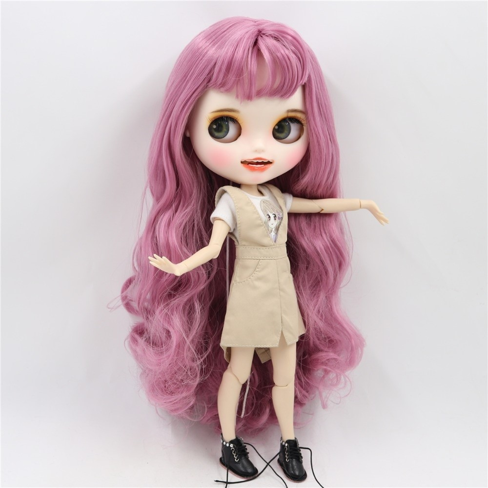Octavia - Premium Custom Blythe Doll with Clothes Smiling Face Premium Blythe Dolls 🆕 Smiling Face