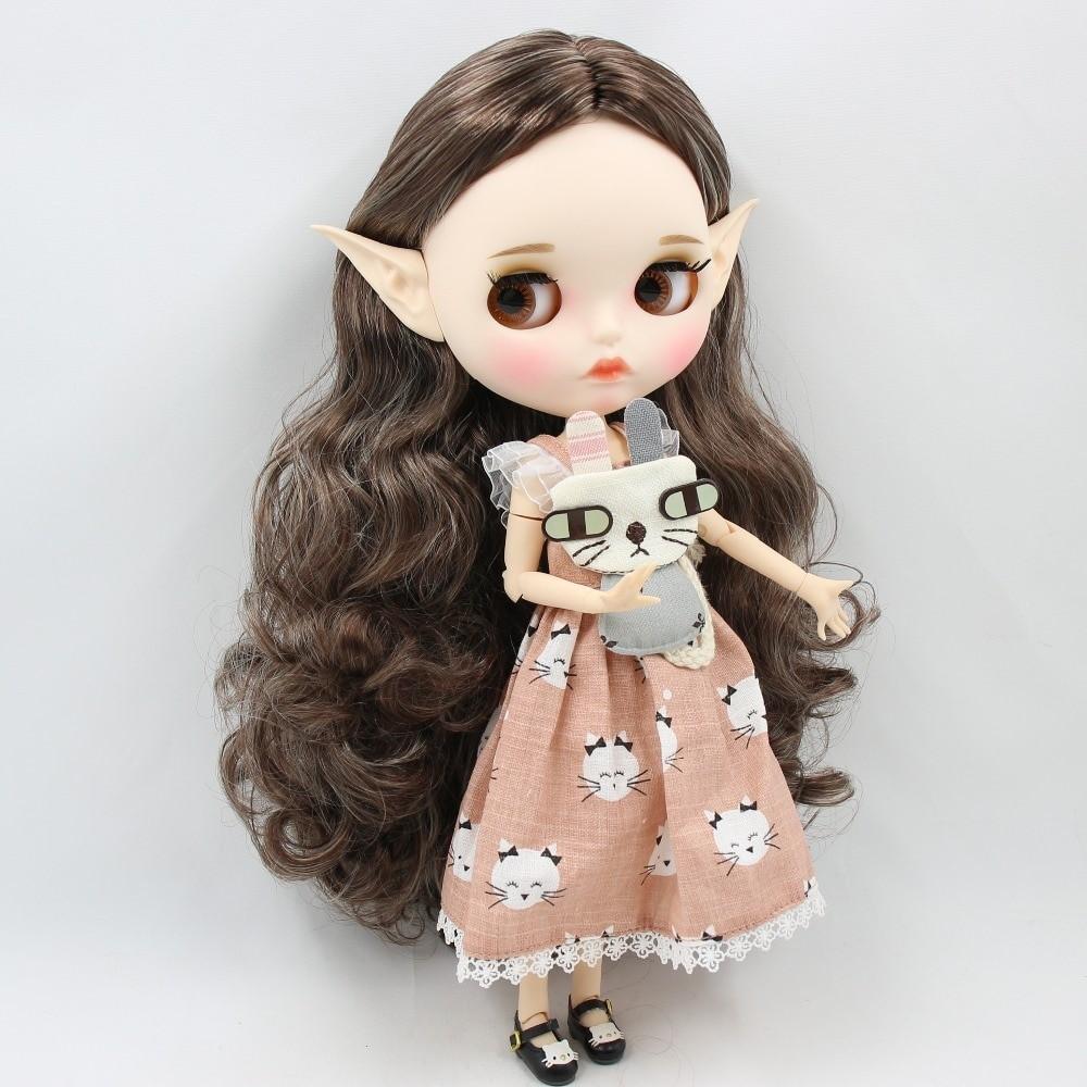 Rina – Premium Custom Blythe Doll with Full Outfit Pouty Face Pouty Face Premium Blythe Dolls 🆕
