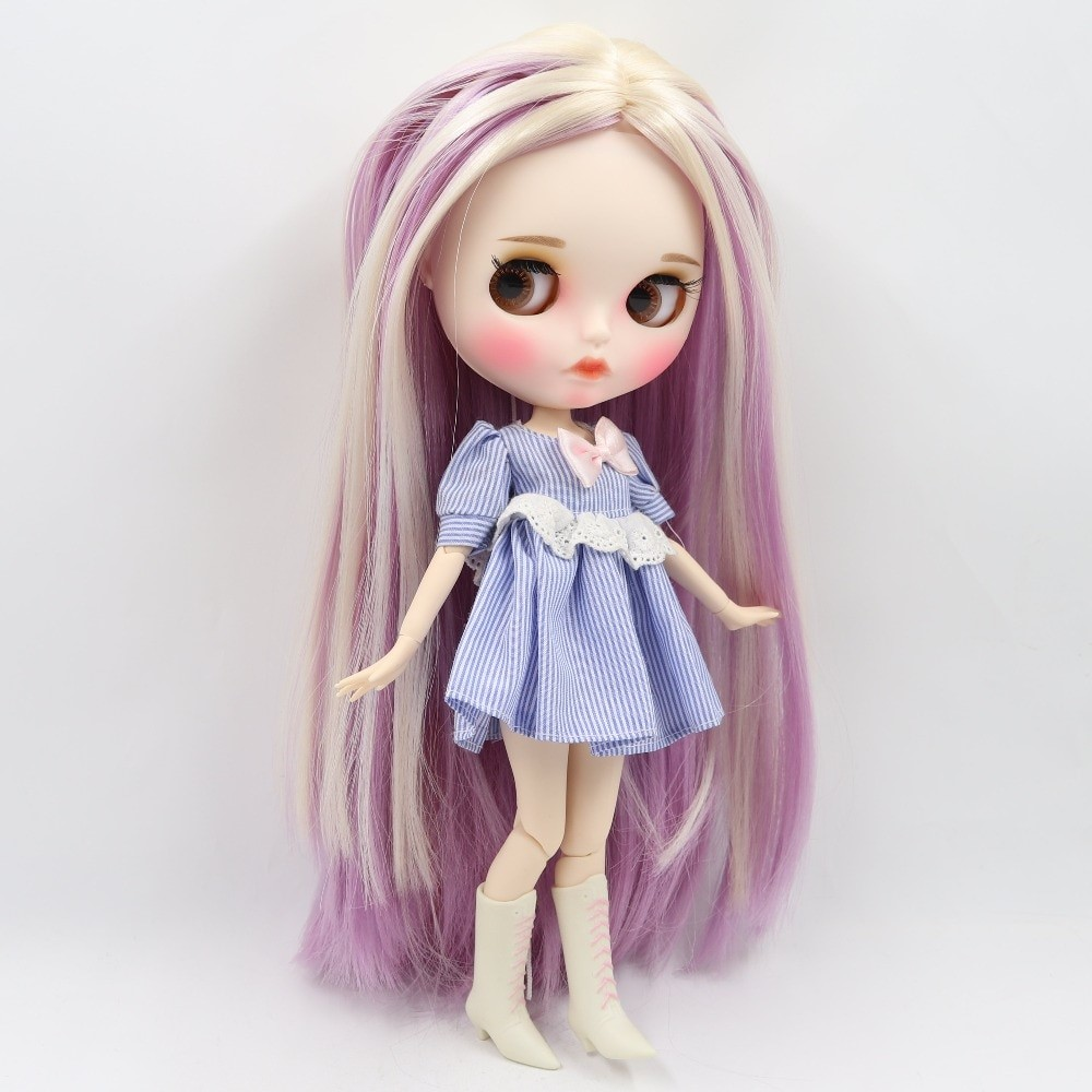 Lydia – Premium Custom Blythe Doll with Clothes Pouty Face Pouty Face Premium Blythe Dolls 🆕
